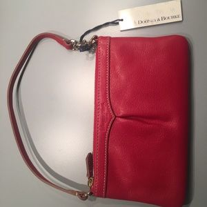 New Dooney and Bourke red wristlet.